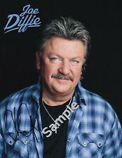 Joe Diffie 8.5x11 Hand-Signed Autograph {100% Authentic}