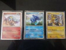 ENTEI SUICUNE RAIKOU - shiny holo ITA HGSS- carte pokemon no charizard goldstar