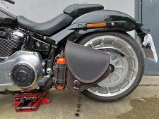 Harley Davidson Satteltasche DIABLO Orange Naht Saddlebag 2018 Modell Fat Bob