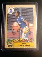 1987 Topps BO JACKSON Rookie RC Royals SHARP! NmMt