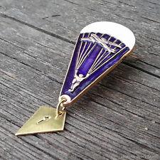 Russian Badge Skydiver VDV Parachute Army Pin Hat Cap Metal Insignia Cockade