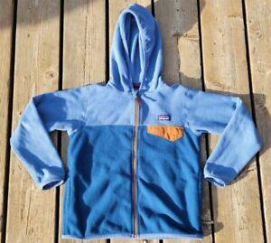 Patagonia Kids Full Zip Synchilla Snap T Fleece XS 5-6