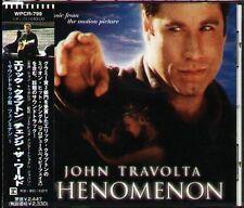 PHENOMENON Soundtrack - Japan CD - NEW Eric Clapton Thomas Newman JOHN TRAVOLTA