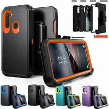 For Samsung Galaxy A21 A51 A71 4G Heavy Duty Case Cover+Belt Clip Fits Otterbox