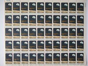 Scott #1371 APOLLO 8 MNH Sheet of 50 US 6¢ Stamps 1969