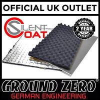 Silent Coat 3 Way Car Door Sound Deadening Isolator Absorber Noise Upgrade Kit
