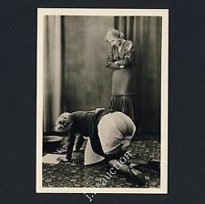 Nude Girls 'spanking Femmes po nu * 1950s photo of BIEDERER rppc Lesbian int