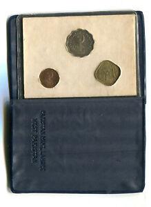 Pakistan Mint Set 1, 5, & 10 Paisa 1961 w/Original Pack (3) Unc/BU