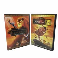 The Lion King and The Lion King 1 1/2 DVD Walt Disney Platinum Edition