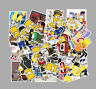 50 Simpson stickers Hip hop rock skateboard surfing phone PC Motor cycle Decals