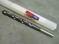 """Hertel Cobalt M42 Taper Length Drill 35/64"""" 135 Deg Tialn  HMT50084J"""