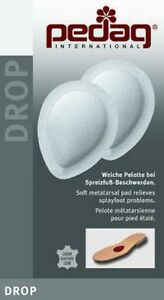 Pedag DROP Metatarsal Pads Metatarsalgia Ball of Foot Pain Splayfoot