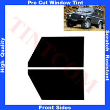 Pre Cut Window Tint Land Rover Defender 90 3D 1991-2009 Front Sides Any Shade