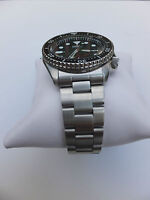 22mm CURVED STAINLESS STEEL OYSTER BRACELET FIT SEIKO 7S26,SKX007,SKX009,SKX011
