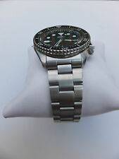 22mm CURVED END SOLID STAINLESS STEEL OYSTER BRACELET FIT SEIKO DIVER 7S26-0020
