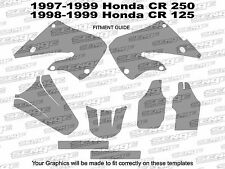 1998 1999 CR 125 GRAPHICS KIT CR125 CR125R 125R R DECO DECALS STICKER