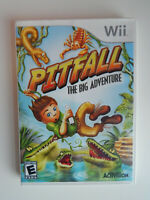 Pitfall: The Big Adventure Game Complete! Nintendo Wii