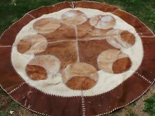 Luxurious Handmade Cowhide Rug (Skin/ Leather Carpet) Imported from USA