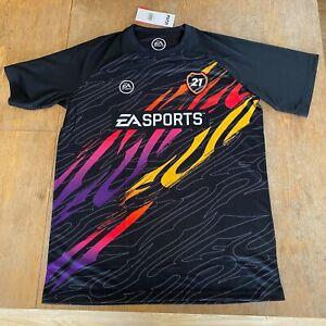 Fifa 21 FUT Luma T-shirt 100% polyester Adults Medium Brand New Sealed W/ Tags