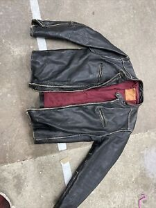 Levi's Men's Leather Jacket Large
