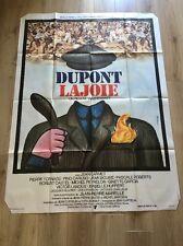 Affiche 120x160 cm Ancienne, Dupont Lajoie Yves Boisset