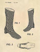 Louis Vuitton Boots Official US Patent Art Print- Purse Boutique Art - 653