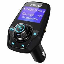 Mpow Wireless Car Bluetooth FM Transmitter MP3 Radio Adapter USB Charger