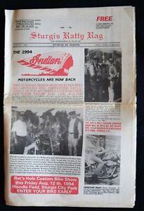 STURGIS RATTY RAG NEWSPAPER - AUGUST 1994