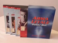 ARMA LETALE POWER BOX COFANETTO 4 DVD SNAPPER DIRECTOR'S CUT
