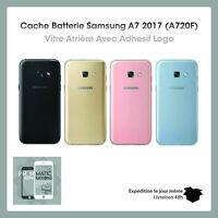 Vitre Arrière Cache Batterie pour Samsung galaxy A7 2017 A720F Logo IMEI Adhésif