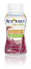 Resource 2.0 fibre Multifrucht , 6 x 4 x 200 ml, Trinknahrung (1 Kt. mit 24 Fl.)