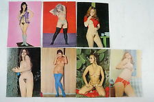 7 Postkarten weibliche Akte künstlerisch ausdrucksstark nicht gelaufen K23