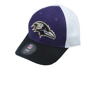 Baltimore Ravens Official NFL Apparel Baby Infant (1-2) OSFM Flexible Hat Cap