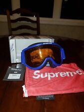Supreme x Smith Collaboration Ski Goggles FW15 Blue