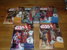 FIVE STAR WARS 3.75 ACTION FIGURES THE FORCE AWAKENS  NEW