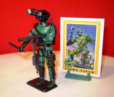 1989 GI JOE COBRA NIGHT VIPER TROOPER ARMY BUILDER 100% IMPEL CARD VINTAGE ARAH