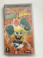 SpongeBob SquarePants: The Yellow Avenger For Sony PSP (New & Sealed)