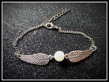 Angel Wings Bracelet,Wrist,Faux Pearl,Angel,Wings,Gift Idea,Fashion/Costume