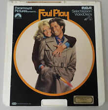 Foul Play for Vintage RCA Selectavision VideoDisc Video Disc Players