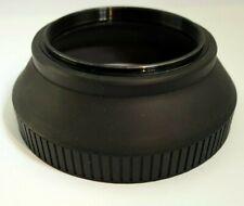 62mm Rubber Lens Hood Shade for telephoto lenses 70-210mm f3.5