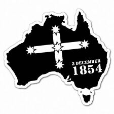 Eureka Australian Continent Sticker Aussie Car Flag 4x4 Funny Ute