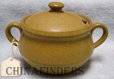 DENBY china ODE pattern Sugar Bowl & Lid