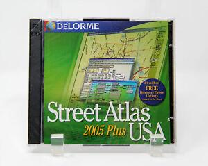 Delorme Street Atlas USA Plus 2005 GPS software (No GPS Included) Windows B351+