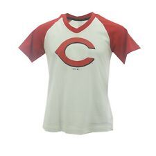 Cincinnati Reds Official Mlb Genuine Kids Youth Girls Size T Shirt New With Tags