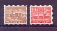 Berlin 1953 - Berliner Bauten - MiNr.112/113 postfrisch** - Michel 70,00 € (293)