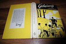 Enid Blyton -- GEHEIMNIS 4 um eine GIFTIGE FEDER // 1. Auflage 1954 Erika Klopp