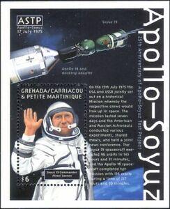 Grenada Grenadines 2000 Space Link-up/Apollo/Soyuz/Astronauts/Rockets m/s b4682d