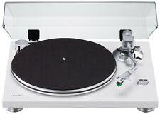 TEAC TN-3B - Direct-drive 2 Speed LP EP Analog Turntable - White