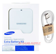 Samsung NX3000 NX Mini Battery With External Charger Kit + USB Cable