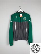 SPORTING LISBON 13/14 *BNWT* Track Jacket (L) Soccer Football Jersey Puma